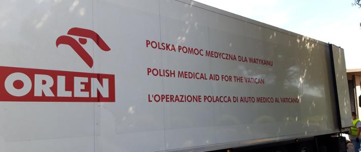 Polska wspiera Watykan w walce z pandemią