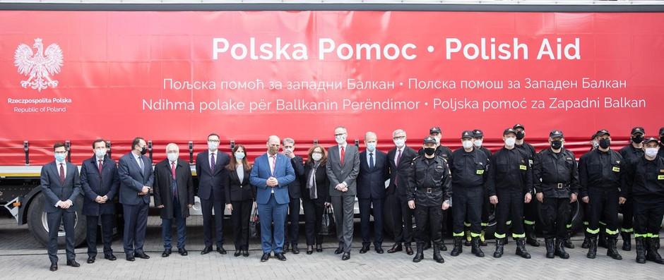 Polska wspiera Bałkany Zachodnie w walce z koronawirusem