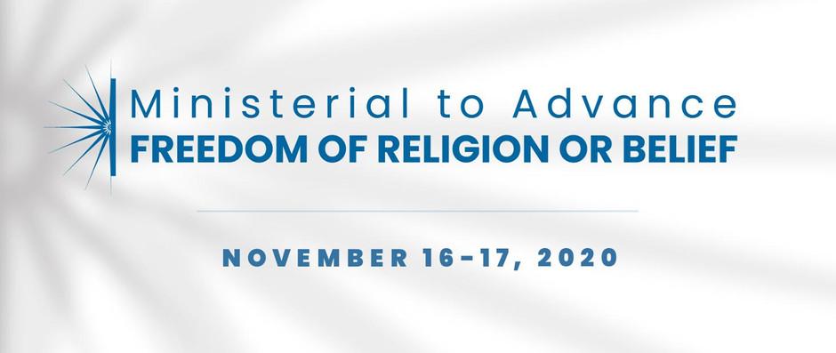 Konferencja Ministerialna na rzecz wolności religii lub przekonań