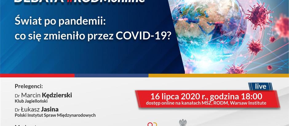Świat po pandemii: Co się zmieniło przez COVID-19?
