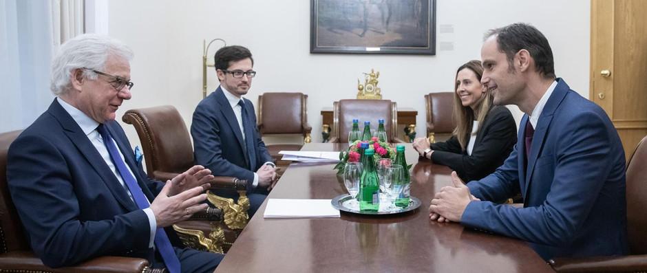 Wizyta ministra spraw zagranicznych Słowenii