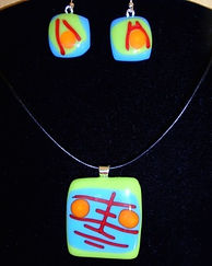 Glass fused jewelry Bel Air Maryland