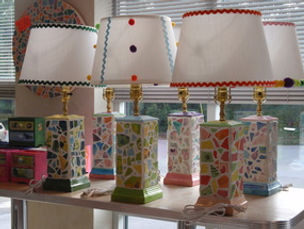 Mosaic Lamp Amazing Glaze Maryland