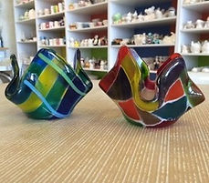 Glass Fused Votive Bel Air Baltimore Maryland