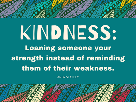 Our Values - Kindness