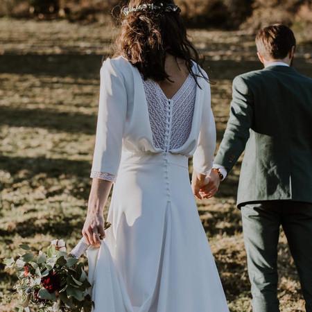 Robe de mariée d'Alexandra