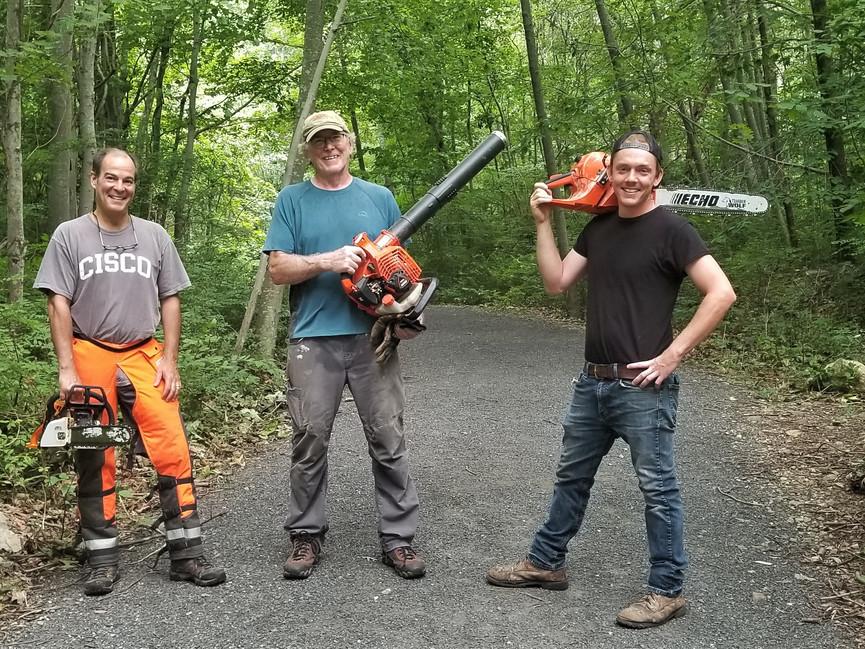 After Storm Cleanup Volunteers