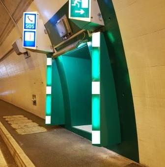 Tunnel Horental B106: Tunnelsicherheit