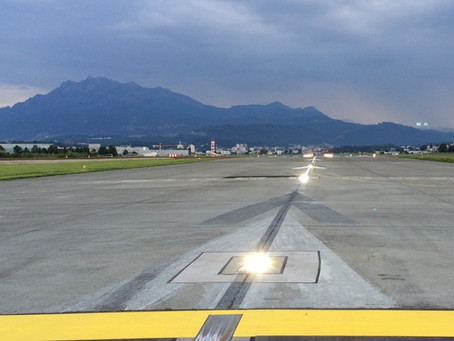 Militärflugplatz Emmen: Pistenbefeuerung