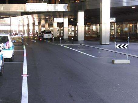 Flughafen Zürich: Parkplatzbesetztanzeige
