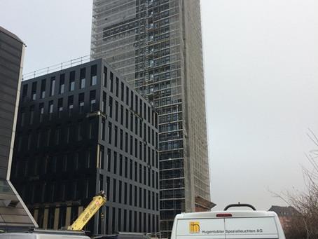 Grosspeter Tower BS: Hindernisbefeuerung