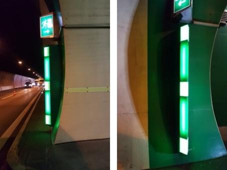 Tunnel Bötzberg A3: Tunnelsicherheit