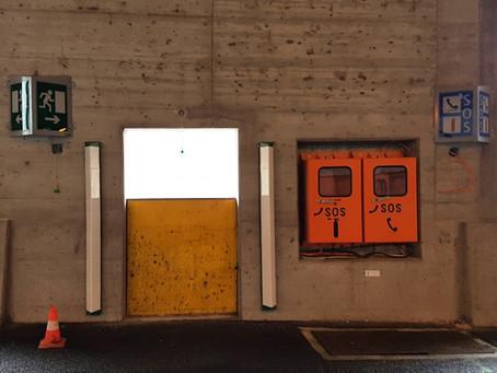 Lawinengalerie Salezertobel: Tunnelsicherheit