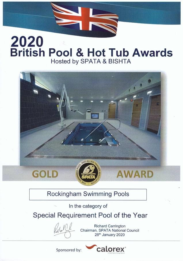Spata 2020 Gold Award