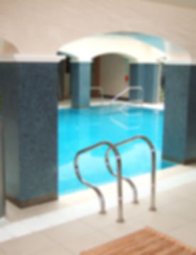 Commercial Swimming Pool as part of Hotel Spa