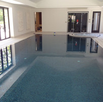 Indoor Deck Level Spa & Swimming Pool