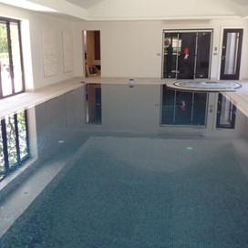 Indoor Deck Level Spa & Swimming Pool