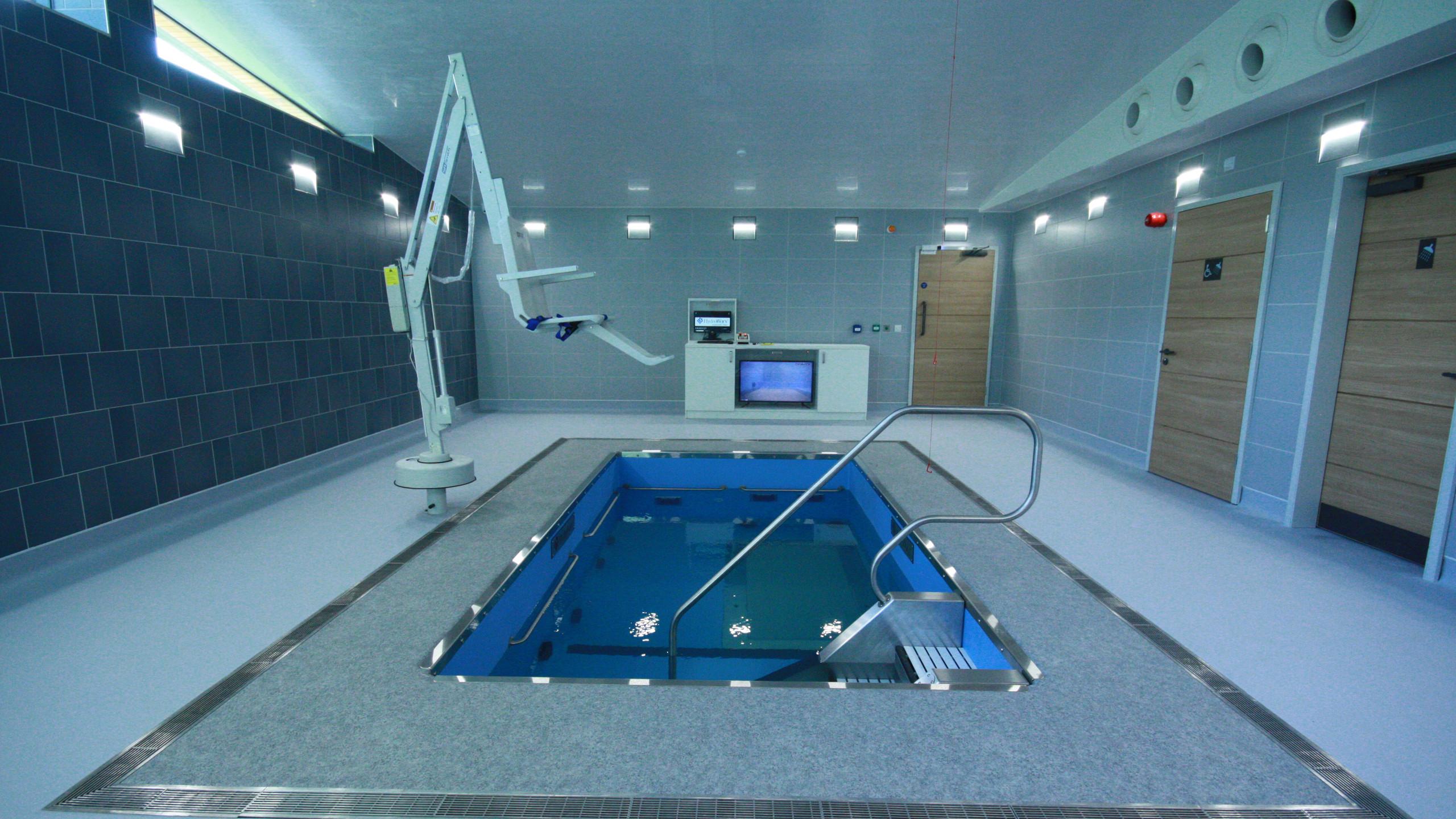 Underwater Treadmill Pool