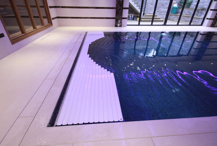 Indoor Swimming Pool with hidden Pool Cover
