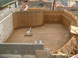 Swimming Pool Shell Construction - Rebar Steels