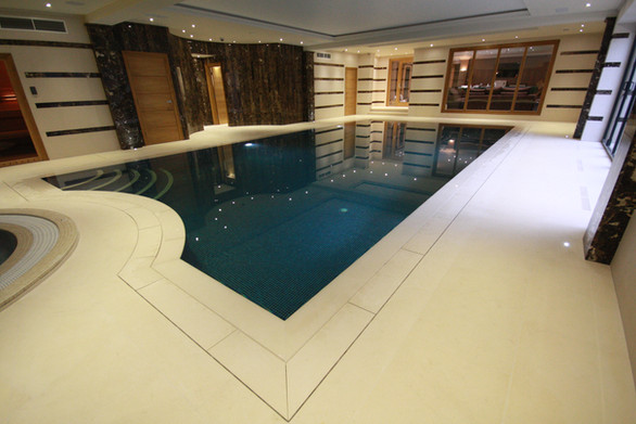 Indoor Sunken Coping Pool