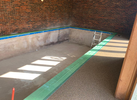 Recent Pool Refurbishment Project