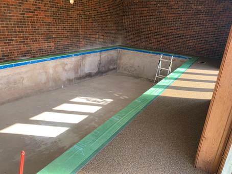 Recent Pool Refurbishment Project