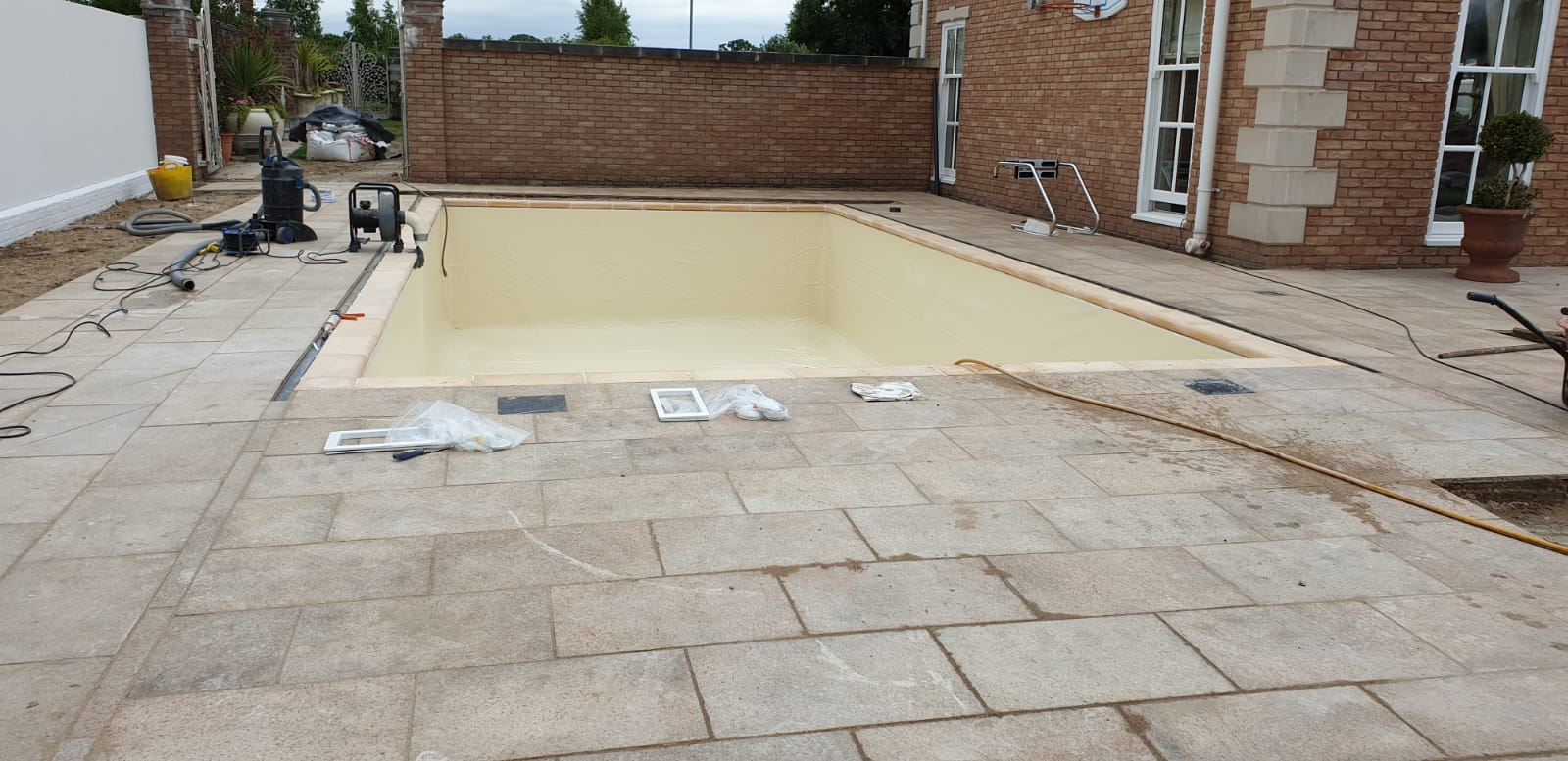 Sand Coloured Liner In
