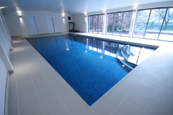 Beautiful Mosaic Tiled Indoor Swimming Pool