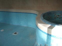 Swimming Pool Mosaic Tiling