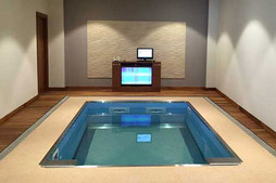 Hydroworx Hydrotherapy Pool with Underwater Treadmill & Lift