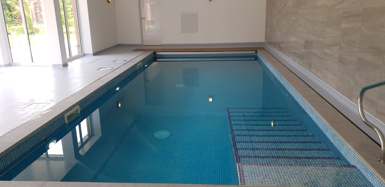 Indoor Pool with Auto Safety Cover