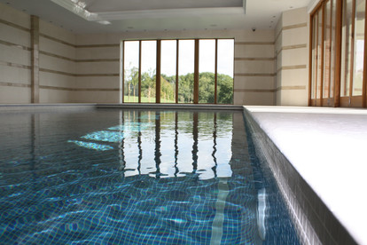 Indoor Mosaic Tiled Swimming Pool