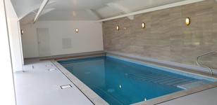 Indoor Pool with Hidden Safety Cover
