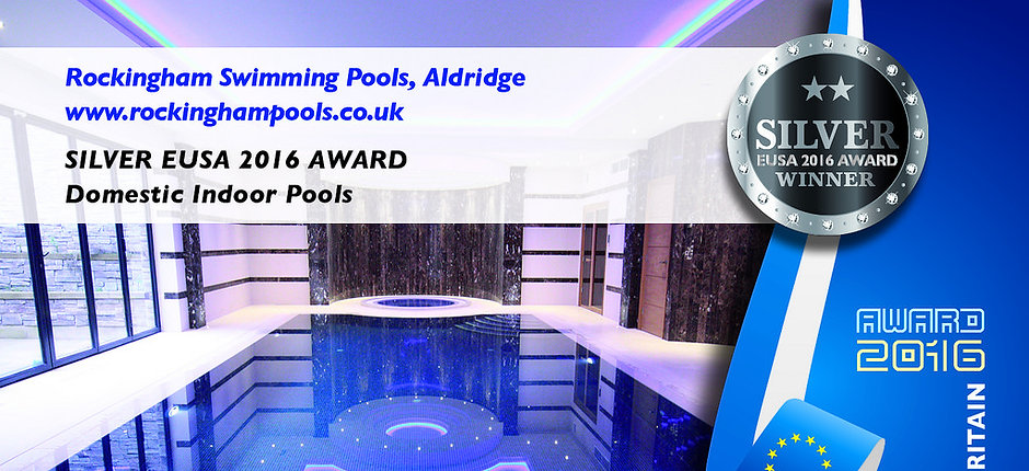 EUSA Award 2016 - Domestic Indoor Pools - Silver Award