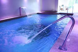 Beautiful Mosaic Tiled Indoor Swimming Pool