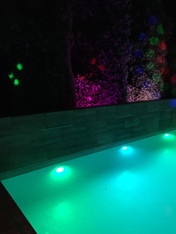 Pool Underwater Colour Changing Lighting