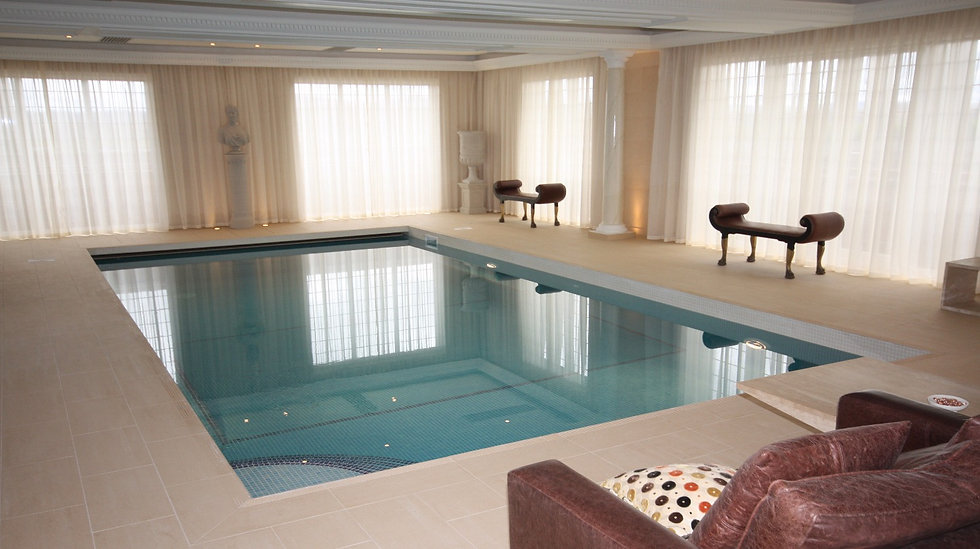 Indoor Pool with In Pit Automatic Cover