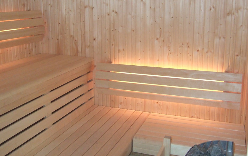 Tylo Sauna Installation by Rockingham Pools