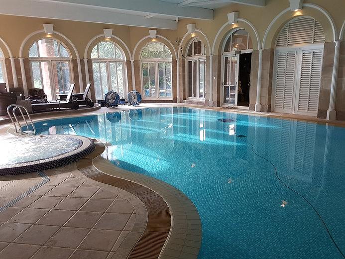 Indoor Commercial Pool & Spa