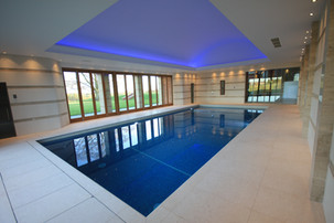Indoor Swimming Pool with In-Pit Automatic Pool Cover