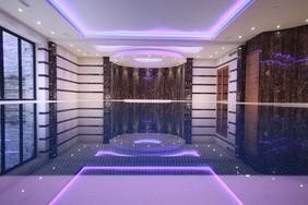 Indoor Luxury Deck Level Swimming Pool