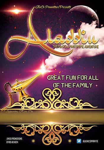 Aladdin 2021 Publicity