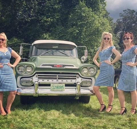 The Bluebird Belles - Classic Cars