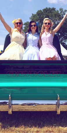 The Bluebird Belles - 50s Chevrolet