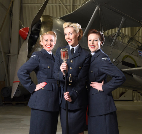 The Bluebird Belles - RAF Cosford