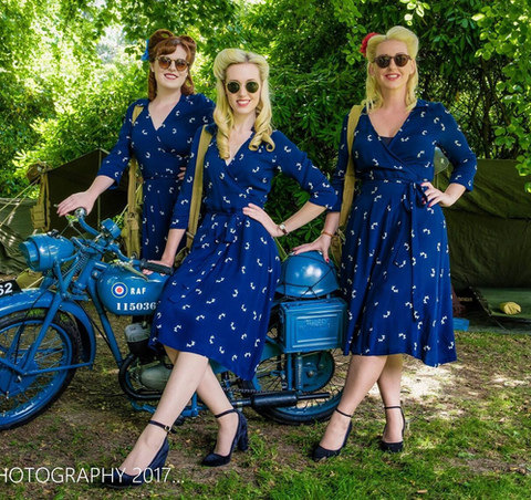 The Bluebird Belles - Classic Bike