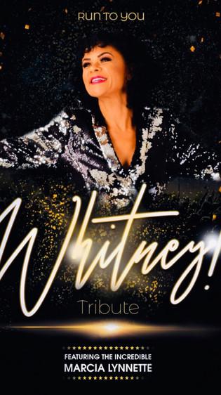 Whitney Houston Tribute Poster