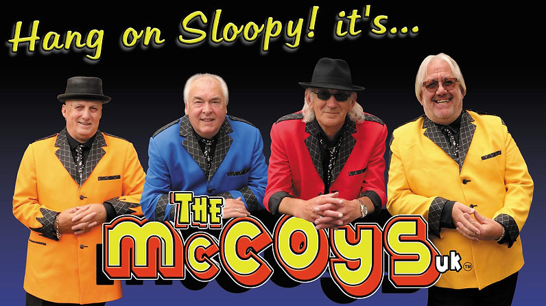 The McCoys current image - 4 piece