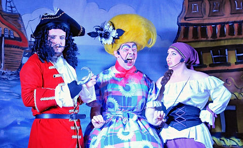 Hook Waterlily and Smee